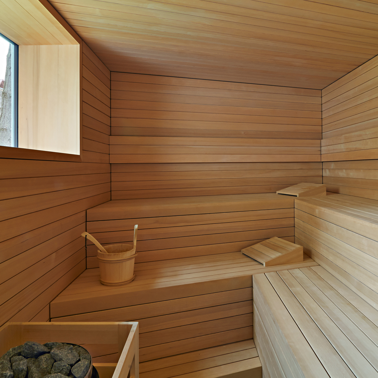 G stehaus mit sauna inland architektur - Sauna architektur ...